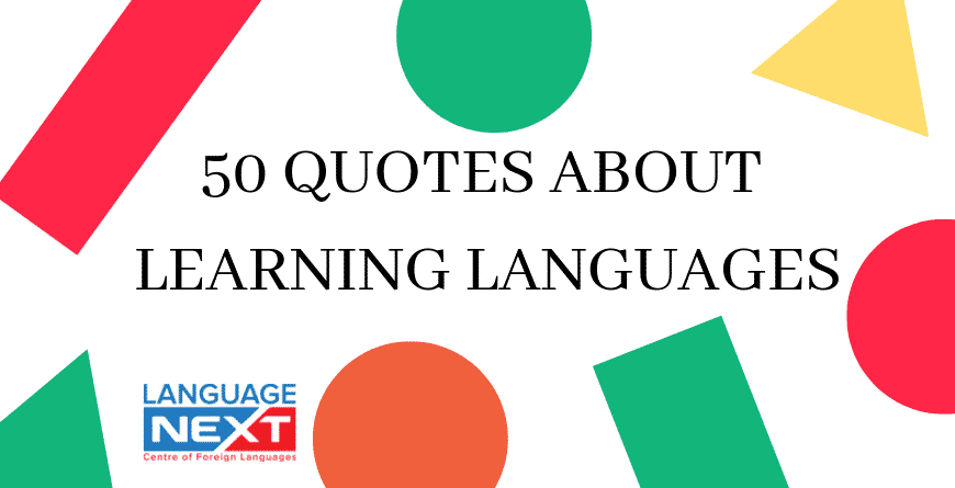 Quotes About Learning Languages